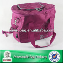 Outdoor Picnic Cooler Bag Extra Large Made Of Polyester/Metal Hook Chain