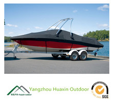 hot sale durable tear resistant utility exceptional quality trailerable boat cover v-hull boat cover
