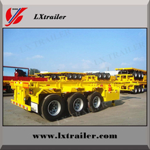 Hot sale tri axle or tandem axle city combo chassis / slider 20ft 40ft container loading trailer chassis