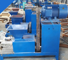 Screw Type Biomass charcoal Briquette Extruding Machine Price / charcoal sick extruder