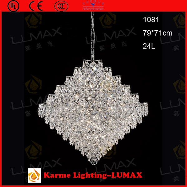 Karme Asfour crystal stone for crystal chandelier #1081