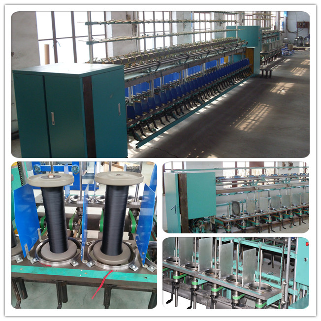 pp/ pe yarn twisting rope machine