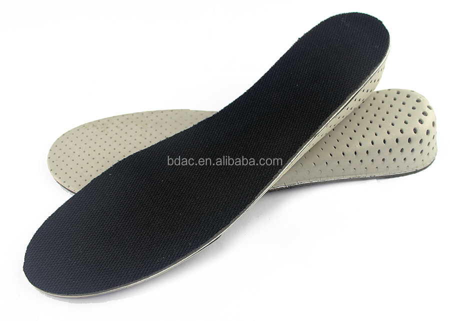 light weight soft EVA memory foam Height Increase insoles for shoes height increasing