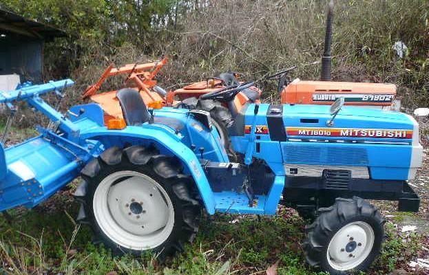 Mitsubishi Mt D Tractor Parts : Usado japonés tractor mitsubishi mt d tractores