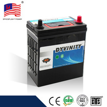 China supplier 36B20L 12v 36ah quick start auto car battery manufacturer