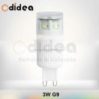 3 watt g9 led bulbs home depot with 230V 6000/3000 color temperature
