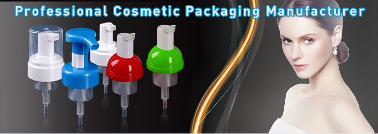 Cosmetic Packaging Plastic Bottle Closure Foam Pump