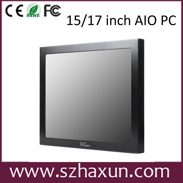 IP65 15inch touch panel pc 5 Wire Resistive Touch Screen Industrial Panel PC with J1900,2 LAN,WIFI/3G/4G
