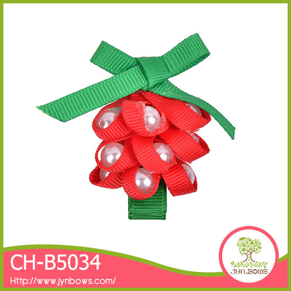 High quality new design handmade ribbon xmas decoration