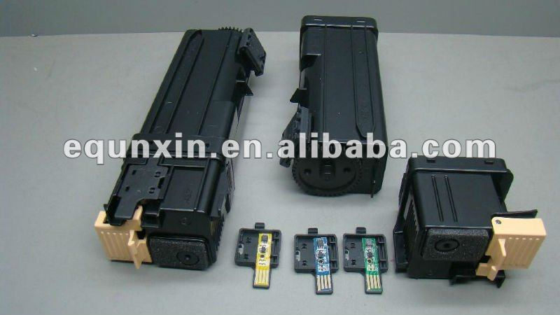 Empty toner cartridge for Xerox 6500 printer