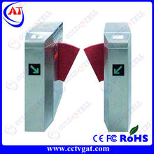Stainless steel Flap barrier retractable Special needs gate
