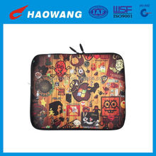 Alibaba china hot sale 10 neoprene laptop sleeve with handle
