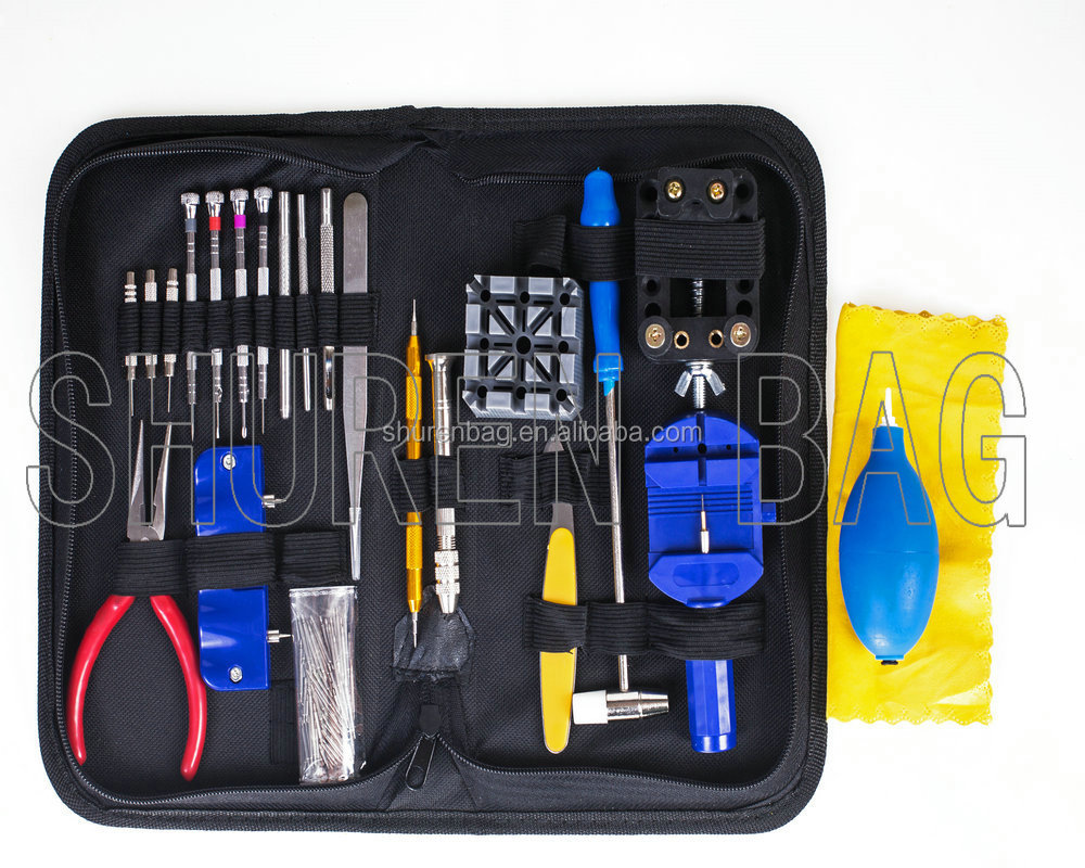 Wholesale assorted metal watch repair tool kit