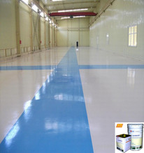 High impact resistance epoxy paint food grade epoxy floor paint with good price