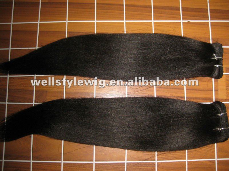 yaki straight virgin brazilian remy hair wefts