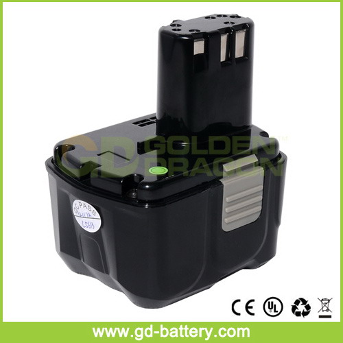 EBL 1430 14.4V 3.0Ah Li-ion power tool battery for HIT, cordless drill battery