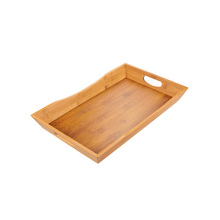 High Quality Custom Design Wooden Food Serving Trays With Handle Serving