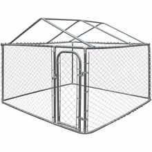 Eco-friendly 6x10-foot Galvanized wire mesh dog kennels/dog runs/ dog play runs
