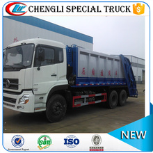 DONGFENG 6x4 14CBM big Garbage Compactor waste trucks for sale
