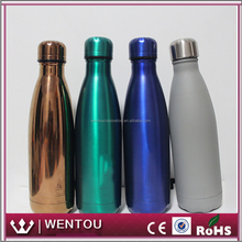 Wholesale Stainless Steel Cola Shape Insulated Water Bottle