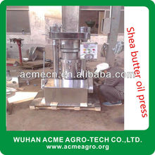 High oil rate shea butter oil press with Vertical hydraulic