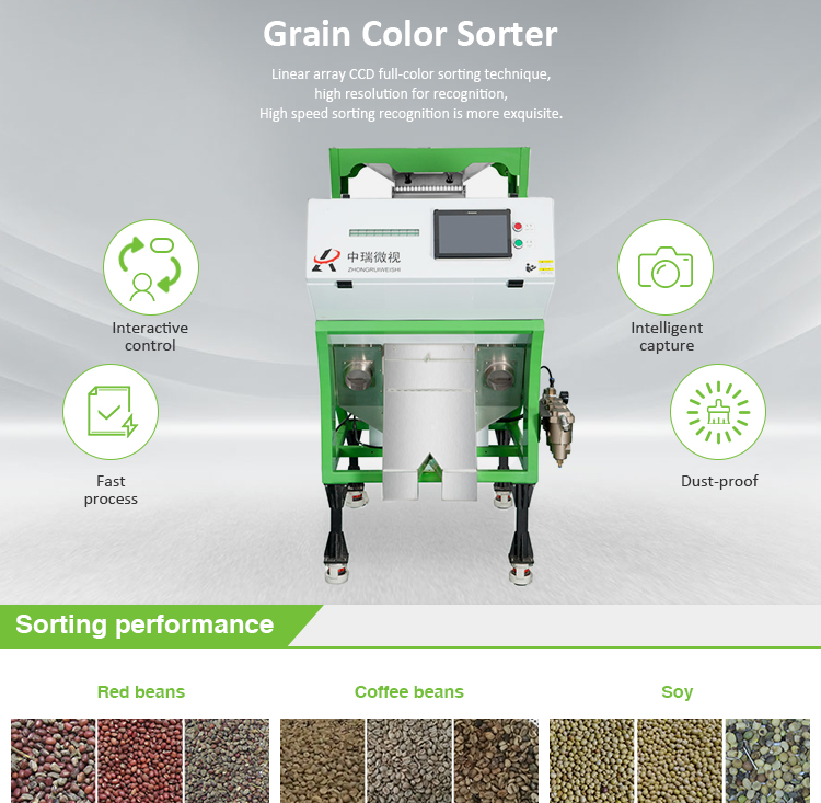 Small Coffee Bean Color Sorter Machine Manufacture In China,Wholesales Intelligent Mini Coffee Bean Color Sorter Price
