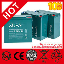Electric Bike Battery XUPAI Made Lead Acid Battery Battery 6-dzm-20