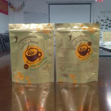 2017 food grade materials plastic bag custom logo, packaging bags for beef jerky/coconut candy/ feed