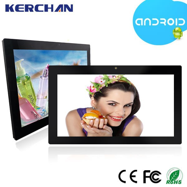 Commercial use 21.5 inch Android Tablet PC/wifi touch screen advertising monitor