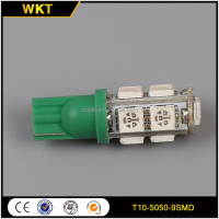 Top level hot-sale T10-9-5050 led car light for canbus t10 bulb