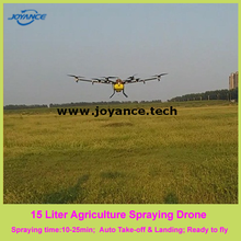 15kg payload agricultural spraying uav with automatic flight routes planning software