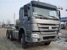 336 horsepower payload HOWO lowest price 6x4 tractor truck for sale