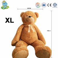 Wholesale cheap lifelike custom stuffed animals giant teddy bear