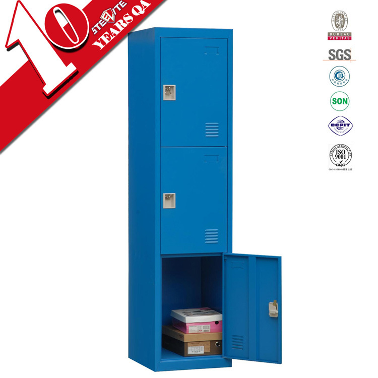 Cold rolled steel knock down locker wardrobe philippines