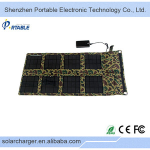 24W Folding Solar bettery Charger for notebook/phone/tablet