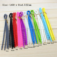 Lazy Silicone Elastic Running Shoelaces Athletic Outdoor Sports Shoe laces
