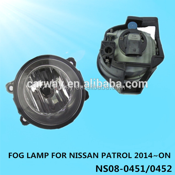 Accessories for NISSAN Patrol 2014 car fog light