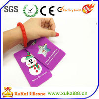 Promotional Item Rubber ID Card Cover/ATM bank card holder