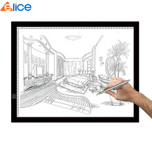 A3 Drawing Pad Adjustable Brightness Tattoo Tracing Pad LED Art Graphics Table Light Box for Animation Sketching