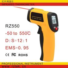 Non contact GM550 to 550 degrees -50 handheld digital IR thermometer temperature measurement of laser gun