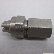 Custome PVC vee jet fog spray nozzle from DongGuan