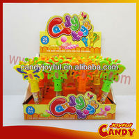 Butterfly candy plastic tube toy candy
