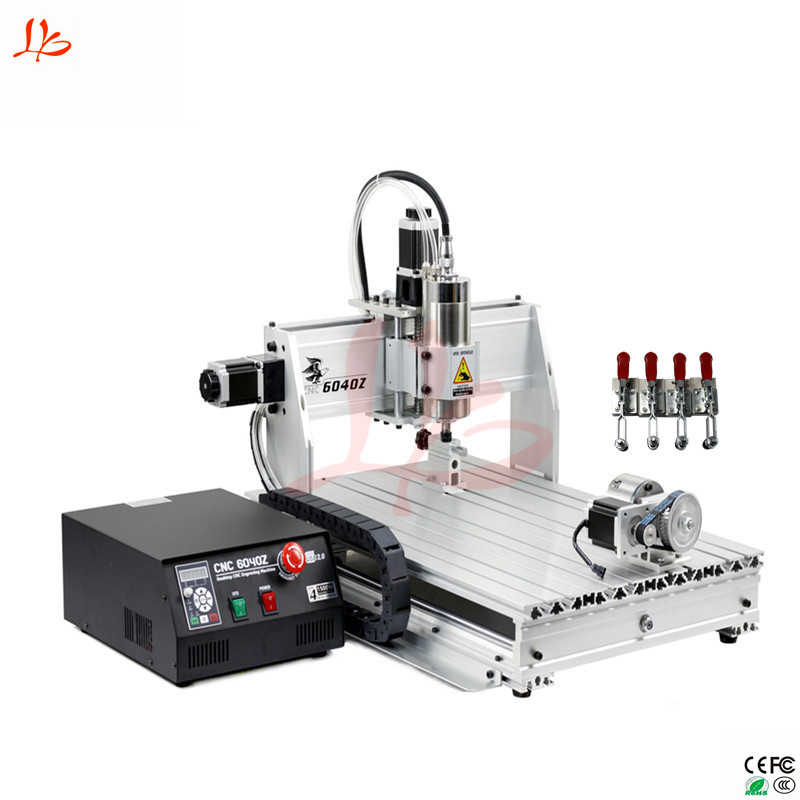 Free Tax From UK To EU <strong>CNC</strong> 6040Z 4 Axis <strong>CNC</strong> router machine in hot sale