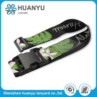 Customized Fashion Polyester Printed Luggage Belt