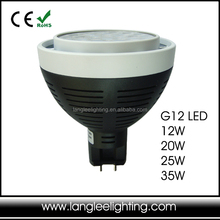 20W G12 Base Led Lamp 100-240VAC Led G12 Light High Bright G12