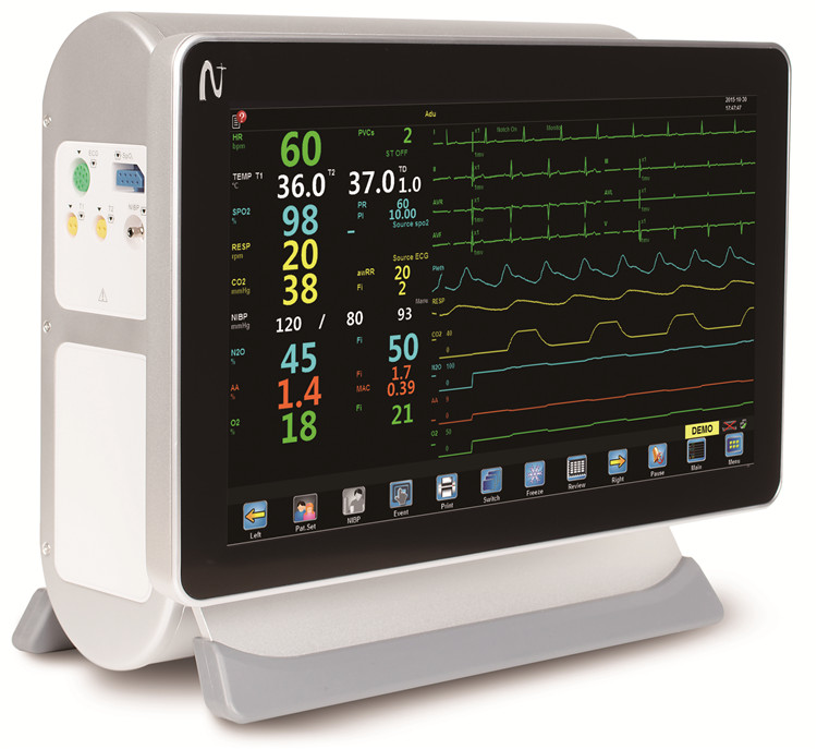 Gemini medical parameter patient heart monitor