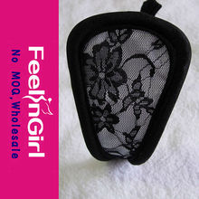 Wholesale Black Lace C-string Sexy C-string for Girl