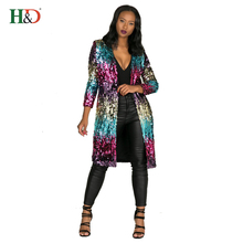 H & D America Fashion Colorful New Style Evening Sexy Ladies Clothing Dresses Women Party