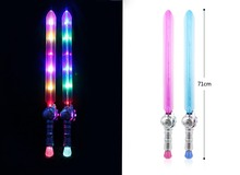 wholesale plastic flashing led sword kids toy sword