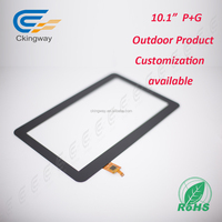 "Strong Rain 10.1"" Surface capacitive touch panel"